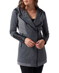 BLANC NOIR - Traveller Mesh Inset Jacket - Lyst