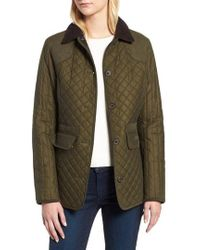 Barbour - Dunnock Water Resistant Waxed Cotton Jacket - Lyst