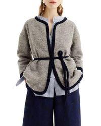 J.Crew | J.crew Branford Boiled Wool Blend Jacket | Lyst