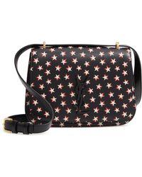 cacaa984bd Saint Laurent - Small Spontini Star Print Leather Crossbody Bag - - Lyst