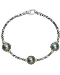 Lagos | Luna Pearl Rope Bracelet | Lyst