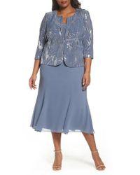 Alex Evenings | Mock Two-piece Jacket Dress | Lyst