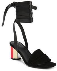 Via Spiga - Nova Ankle Wrap Sandal - Lyst