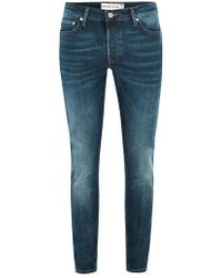 TOPMAN - Stretch Skinny Fit Jeans - Lyst