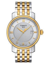 Tissot - Bridgeport Bracelet Watch - Lyst