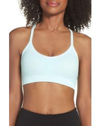 66f99dd6c6 Lyst - Climawear Make The Cut Seamless Sports Bra in Blue