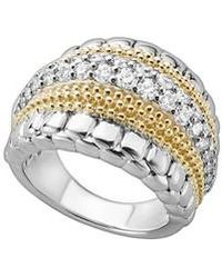 Lagos - Diamond Lux Ring - Lyst