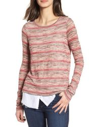 Bailey 44 - Shoot From The Hip Layer Look Sweater - Lyst
