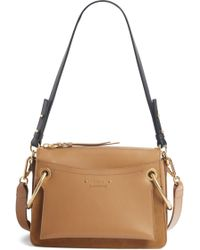 Chloé - Small Roy Leather Shoulder Bag - Lyst