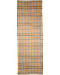 Burberry - Vintage Check Wool & Silk Gauze Scarf - Lyst