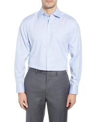 English Laundry - Check Regular Fit Dress Shirt - Lyst