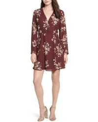 Lush | Elly Wrap Dress | Lyst