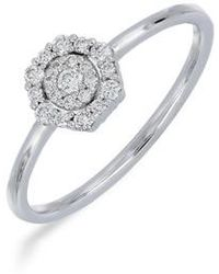 Bony Levy   Diamond Cluster Ring (nordstrom Exclusive)   Lyst