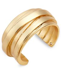 Karine Sultan - Angelique Adjustable Ring - Lyst