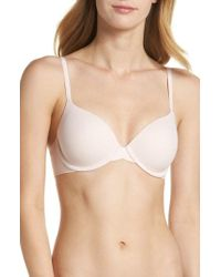 Calvin Klein - 'perfectly Fit - Modern' T-shirt Bra - Lyst