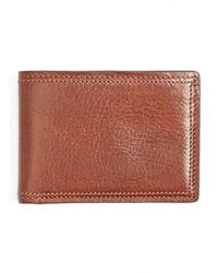 Bosca - Leather Bifold Wallet - Lyst