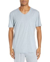 Daniel Buchler - V-neck Cotton & Modal T-shirt - Lyst