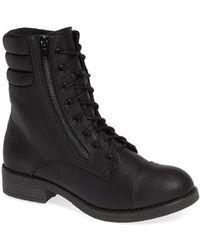 MIA - Maeva Combat Boot - Lyst