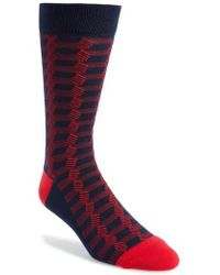 Ted Baker - Geometric Socks - Lyst