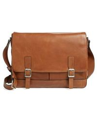 Frye - Oliver Leather Messenger Bag - Lyst