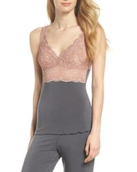 Samantha Chang - Built Up Camisole - Lyst