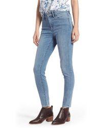 Treasure & Bond - Charity High Waist Skinny Jeans - Lyst