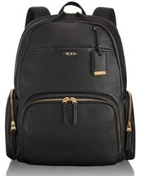 Tumi | Calais Leather Computer Backpack | Lyst