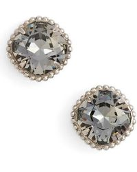 Sorrelli | Cushion Cut Solitaire Stud Earrings | Lyst