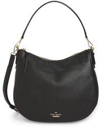 Kate Spade - Jackson Street Mylie Leather Hobo Tote Bag - Lyst