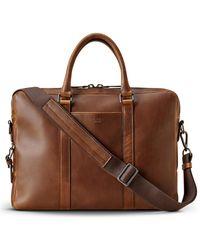 Shinola - Navigator Leather Briefcase - - Lyst