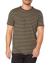 Threads For Thought - Kane Slub Stripe T-shirt - Lyst