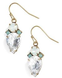 Sorrelli - Tearing Up Crystal Drop Earrings - Lyst