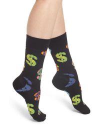 Happy Socks - Andy Warhol Dollar Crew Socks - Lyst