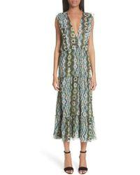 Altuzarra - Jorma Print Silk Dress - Lyst