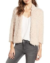 BISHOP AND YOUNG - Bishop + Young Faux Fur Jacket - Lyst
