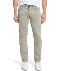 Mavi Jeans - Zach Straight Leg Pants - Lyst