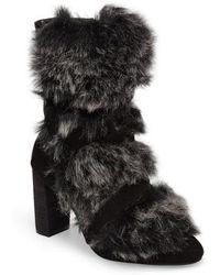 Charles David - Alberta Faux Fur Boot - Lyst