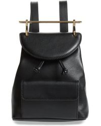 M2malletier | Mini Calfskin Leather Backpack | Lyst
