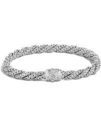 John Hardy - Twist Chain 5mm Bracelet With Diamonds - Lyst