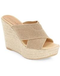 Patricia Green - Nora Linen Wedges - Lyst