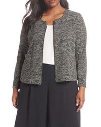 Sejour - Tweed Zip Jacket - Lyst