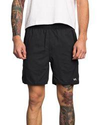 RVCA - Spectrum Sport Shorts - Lyst