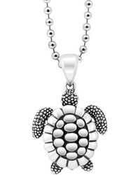 Lagos - 'rare Wonders - Turtle' Long Talisman Necklace - Lyst