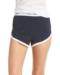 Calvin Klein - Sleep Shorts - Lyst