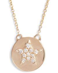 Dana Rebecca - Julianne Himiko Star Disc Pendant Necklace - Lyst