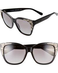 1a157ac7ab5c COACH Sunglasses Hc 8155 Q 500211 Black in Black - Lyst