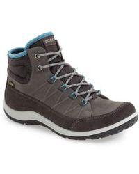Ecco - 'aspina Gtx' Waterproof High Top Shoe - Lyst