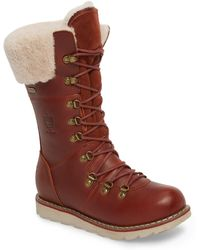 Royal Canadian - Louise Waterproof Snow Boot With Genuine Shearling Cuff - Lyst