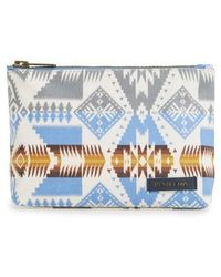 Pendleton - Canopy Canvas Zip Pouch - Metallic - Lyst