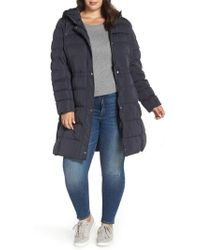 Marc New York - Jersey Hooded Parka - Lyst
